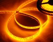 Светодиодная лента CLASSIC, 3528, 120led/m, Yellow, 12V, IP65