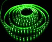 Светодиодная лента CLASSIC, 3528, 60led/m, Green, 12V, IP33