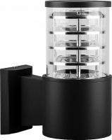Светильник садово-парковый Feron DH0801, Техно на стену вверх, E27 230V, черный