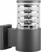 Светильник садово-парковый Feron DH0801, Техно на стену вверх, E27 230V, серый