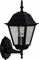 Светильник садово-парковый Feron 4201 четырехгранный на стену вверх 100W E27 230V, черный