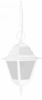Светильник садово-парковый Feron 4205 четырехгранный на цепочке 100W E27 230V, белый