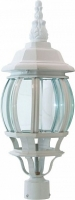 Светильник садово-парковый Feron 8103 восьмигранный на столб 100W E27 230V, белый