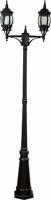 Светильник садово-парковый Feron 8114 столб 2*100W E27 230V, черный