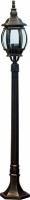 Светильник садово-парковый Feron 8110 столб 100W E27 230V, черное золото