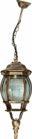 Светильник садово-парковый Feron 8105 восьмигранный на цепочке 100W E27 230V, черное золото