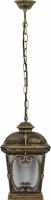 Светильник садово-парковый Feron PL133 четырехгранный на цепочке 100W 230V E27, черное золото