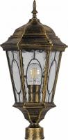 Светильник садово-парковый Feron PL152 шестигранный на столб 60W E27 230V, черное золото