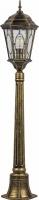 Светильник садово-парковый Feron PL155 столб шестигранный 60W E27 230V, черное золото