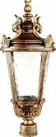Светильник садово-парковый Feron PL4003 круглый на столб 60W 230V E27, черное золото