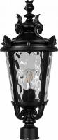 Светильник садово-парковый Feron PL4003 круглый на столб 60W 230V E27, черный