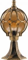 Светильник садово-парковый Feron PL3804 круглый на постамент 60W 230V E27, черное золото