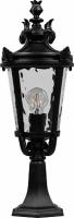 Светильник садово-парковый Feron PL4004 круглый на постамент 60W 230V E27, черный