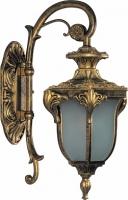 Светильник садово-парковый Feron PL4042 шестигранный на стену вниз 60W 230V E27, черное золото
