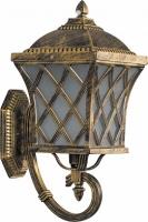 Светильник садово-парковый Feron PL4061 четырехгранный на стену вверх 100W E27 230V, черное золото