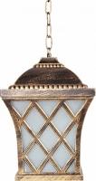 Светильник садово-парковый Feron PL4064 четырехгранный на цепочке 100W E27 230V, черное золото