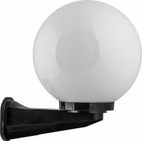 Светильник садово-парковый Feron НБУ 01-60-250 шар ПМАА E27 230V, молочно-белый
