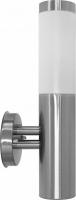 Светильник садово-парковый Feron DH021-B, Техно на стену вверх, 18W E27 230V, серебро