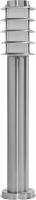 Светильник садово-парковый Feron DH027-650, Техно столб, 18W E27 230V, серебро