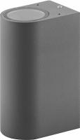 Светильник садово-парковый Feron DH015, 2*GU10 230V, серый