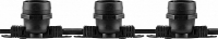 Гирлянда Feron CL50-8 Белт-лайт 230V черный IP65 8м