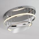 Потолочный светодиодный светильник 90160/2 хром