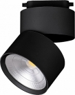 Светодиодный светильник Feron AL107 трековый на шинопровод 15W, 90 градусов, 4000К, черный