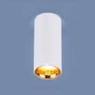 DLR030 12W 4200K белый матовый/золото
