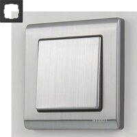 Рамка на 1 пост Werkel WL02-Frame-01 Глянцевый никель