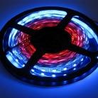 Видео лента, 5050, 60 led/m, V62, RGB-SPI, WS2811A controlled, 5V, IP33