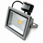 Светодиодный прожектор c датчиком движения 30 В IP65 220V White