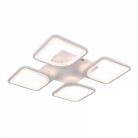 светодиодная люстра 4квадрата 1537/4 WT