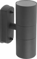 Светильник садово-парковый Feron DH0704, 2*GU10 230V, серый