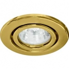 Светильник потолочный Feron, MR16 G5.3 золото, DL11