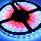 Видео лента, 5050, 60 led/m, RGB-SPI, WS2811A controlled, 12V, IP33
