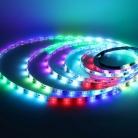 Видео лента 5050, 30 led/m, A32, RGB-SPI, WS2812A controlled, 12V, IP20
