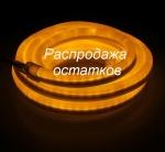 Гибкий неон, 12*24мм, LED/м-80-220V, ЖЕЛТЫЙ