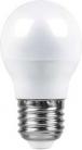 Лампа светодиодная Feron, (7W) 230V E27 6400K, LB-95