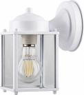 Светильник садово-парковый Feron PL200 60W E27 230V, белый