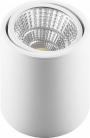 Светодиодный светильник накладной 10W  белый поворотный