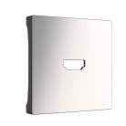 Накладка для розетки HDMI глянцевый никель WL02-HDMI-CP