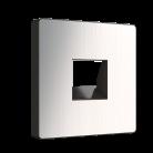 Накладка для RJ45 и RJ11 WL02-RJ-CP глянцевый никель