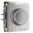 Диммер WL09-DM600 Werkel серебрянная рифленая