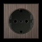 Накладка для розетки IP20 WL12-SKGS-IP20-CP бронзовый