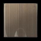 Накладка для розетки IP44 с крышкой WL12-SKGSC-IP44-CP бронзовый