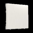 Клавиша для выключателя перекрестного WL13-SW-1G-C-CP/ перламутровый рифленый