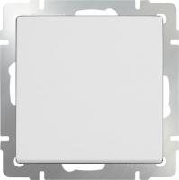 Выключатель одноклавишный WL01-SW-1G Werkel белый