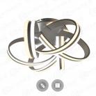 Управляемый светодиодный светильник VOLNA DOUBLE 170W 6С-520/237-WHITE/OPAL-220-IP20