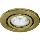 Светильник потолочный Feron, MR16 G5.3 античное золото, DL11