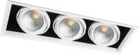 Светодиодный светильник карданный 3x30W